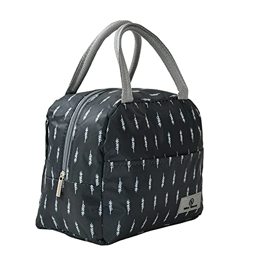 Yellow Weaves Insulated Travel Lunch / Tiffin / Storage Bag for Office, College & School (Dark Blue)