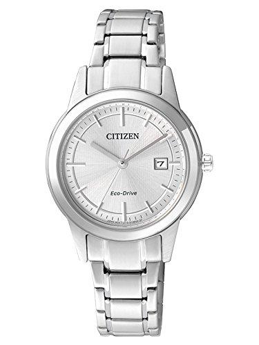 Citizen–Reloj de Pulsera analógico para Mujer (tamaño XS Cuarzo Acero Inoxidable fe1081–59A