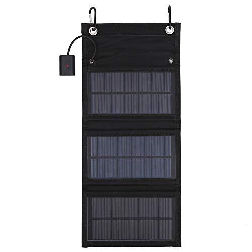 Tabpole Pannello Solare Pieghevole Portatile Caricatore Del Telefono Solare Per Jackery Explorer Webetop Battery Pack/Dispositivi USB per iPhone 11/Xs/XS Max/XR/X/8/7