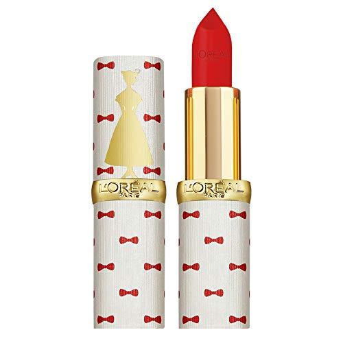 L'Oréal Paris Color Riche Rossetto Lunga Durata, Edizione Limitata Disney Mary Poppins, Idea Regalo Donna, Finish Matte, Rosso 346