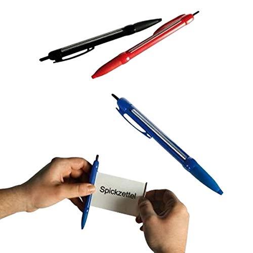 TotalCadeau Kugelschreiber mit Spickzettel, Blau