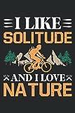 Taccuino: ciclista, bici da corsa, mountain biker,: 120 pagine foderate - notebook, bookbook, diario, per fare lista, libro di registrazione, piano, organizza e nota.