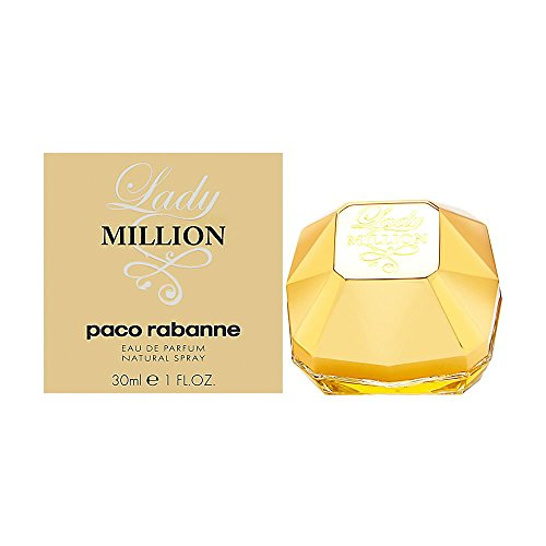 Paco Rabanne Lady Million femme / woman, Eau de Parfum, Vaporisateur / Spray 30 ml, 1er Pack (1 x 30 ml)
