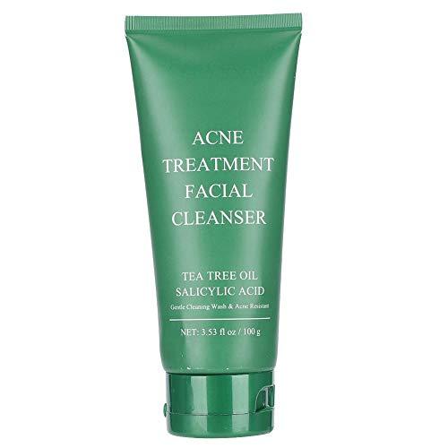 100g Limpiador Facial Crema Facial de Limpieza Profunda para Limpiar Poros y Hidratando la Piel Tratamiento de Cuidado Facial