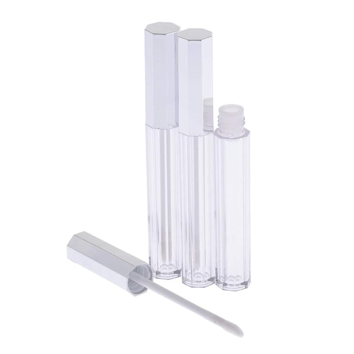 タクシー顎ウールT TOOYFUL リップグロス 容器 チューブ 口紅 容器 空 プラスチック リップグロスボトル 5ml 3個セット