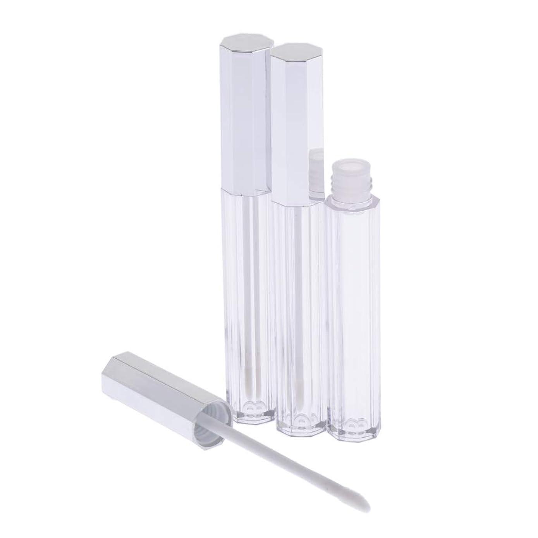 赤道書店毎回T TOOYFUL リップグロス 容器 チューブ 口紅 容器 空 プラスチック リップグロスボトル 5ml 3個セット