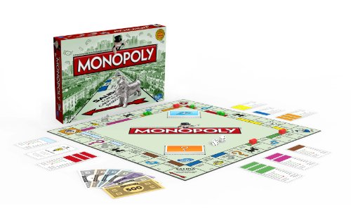 Hasbro Juegos Familia Monopoly Std Barcelona 00009118