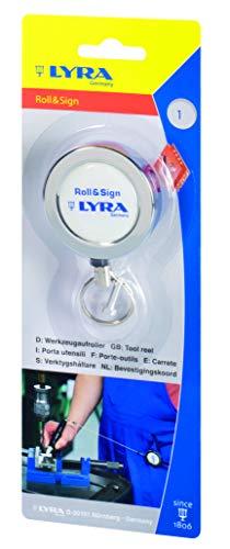 Lyra gereedschapshouder roll&Sign, marker, gereedschapshouder met staalkabel, gereedschap-JoJo, 120 cm lang – 7608001