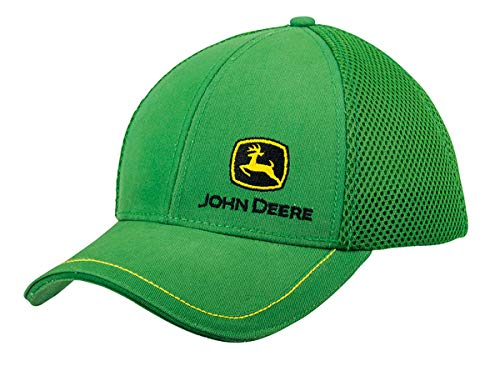 John Deere Cap mit Stoff-Mesh Grün