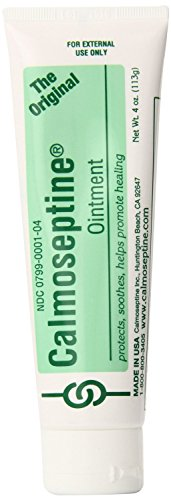 Calmoseptine Ointment Tube 4 Ounce Pack of 2
