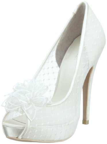 Menbur Wedding Damen Adelia Pumps, Elfenbein (Ivory), 41 EU