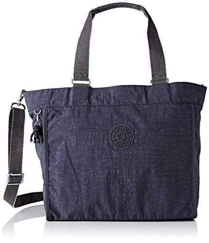 Kipling Damen New Shopper L Tote, Grau (Night Grey), 48.5x34x17.5 cm