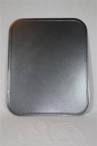 Bodenblech HSL silber/schwarz 50/60/0,6
