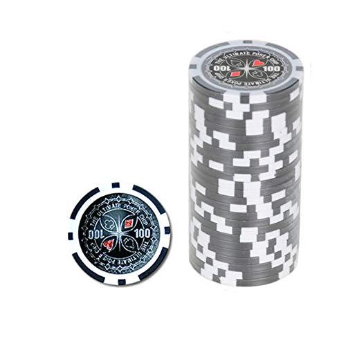 Ultimate Pokerchips 100 Er Wert Poker Chip Roulette Casino Qualität