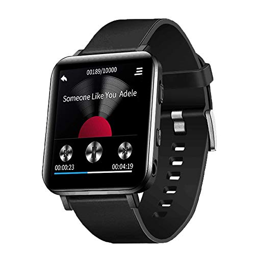 CCHKFEI Lecteur MP3 Bluetooth de Sport avec écran Tactile 16Go, Lecteur de Musique HiFi avec podomètre pour Course à Pied, Jogging et entraînement