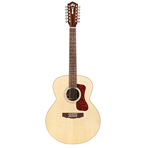 Guild F-1512 12-String Acoustic Guitar in Natural