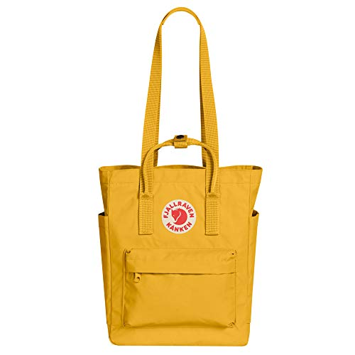Fjallraven, Kanken Totepack Backpack with 13' Laptop Sleeve for Everyday Use and Travel, Ochre