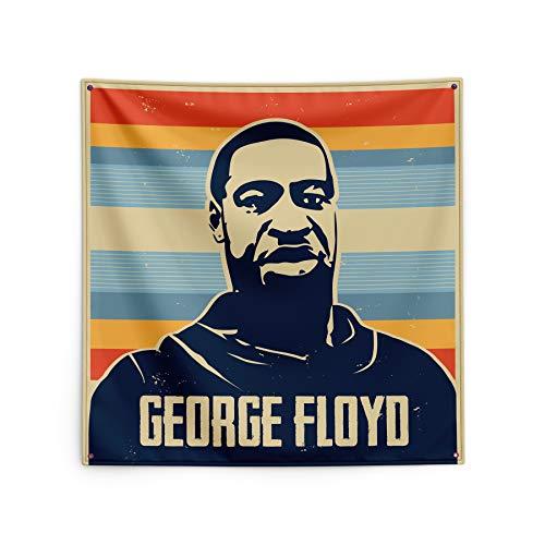 LAOZI Ich kann Nicht atmen! Protestflagge. Jeder ist gleich, es gibt Keine Diskriminierung, wir Werden frei Sein! 1,5 * 1,5 cm