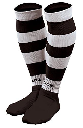Joma Zebra, Stutzen Unisex-Adulto L schwarz/weiß