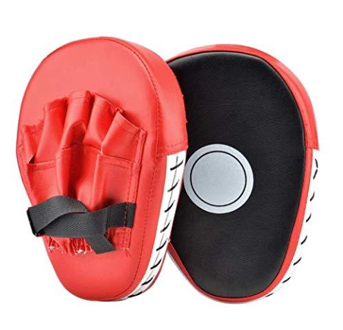 Boxhandschuhe Boxsack 2 Stücke Kickboxhandschuhe Pad Punch Ziel Tasche Männer MMA Pu Karate Muay Thai Free Fight Sanda Training Erwachsene Kinder Ausrüstung