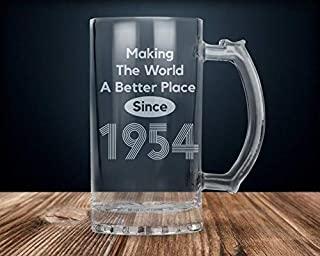 65Th Birthday Gift 65Th Birthday 65Th Birthday Beer Mug Happy 65Th Birthday 65Th Birthday Party 65 Years Old 1954 Birthday Gift