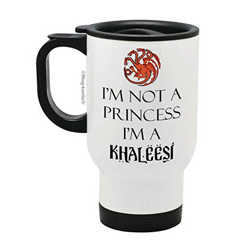 Juego de Tronos MUGSGT01 475 ml Taza redonda Khaleesi Madre de Dragones
