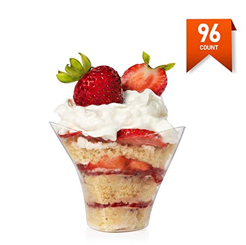 Mini Swirl Triangle Dessert Cup