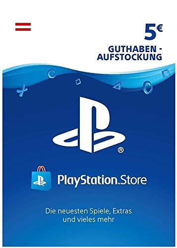PSN Guthaben-Aufstockung   5 EUR   österreichisches Konto   PS5/PS4/PS3 Download Code