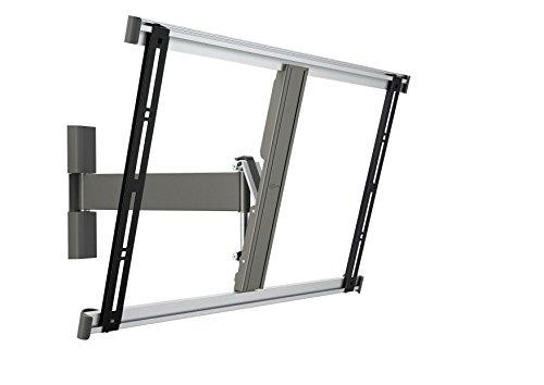 Vogel's THIN 325 TV-Wandhalterung für 102-165 cm (40-65 Zoll) Fernseher, 120° schwenkbar und neigbar, max. 25 kg, Vesa max. 600 x 400, grau