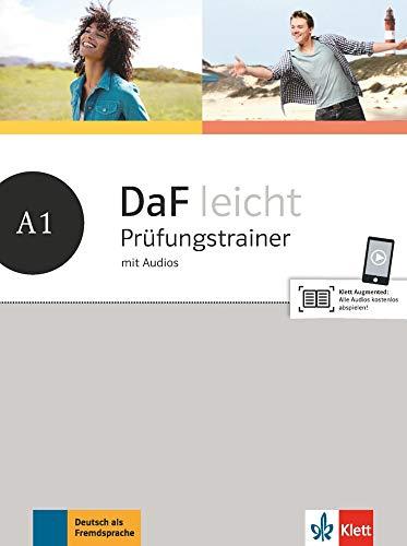 DaF leicht A1: Prüfungstrainer mit Audios (DaF leicht: Deutsch als Fremdsprache für Erwachsene)