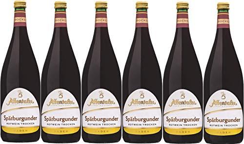 Affental Winzer-Edition Spätburgunder Rotwein QbA trocken (6 x 1,0L)