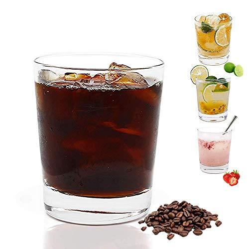 Umi.by Amazon Vasos de sidra 320ml Juego de 6 Sin plomo Vasos de Whisky