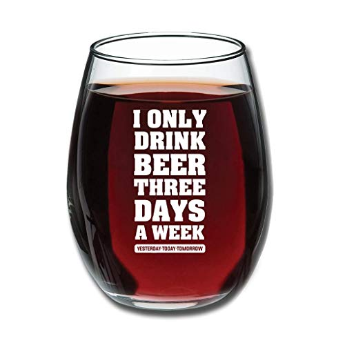 Bohohobo Libbey Weinglas ohne Stiel, 350 ml
