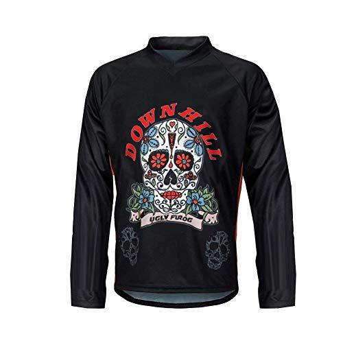 Uglyfrog Radtrikot Herren Fahrrad MTB Downhill Jersey Sommer T-Shirt Mountain Road Radsportbekleidung Wear
