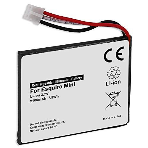 Batería de repuesto compatible con P655252 para Harman Kardon Esquire Mini [2100 mAh – 3,7 V – Li Ion – 100% compatible]