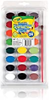 Crayola 53-2400 24 Washable Watercolours, School, Craft, Painting and Art Supplies, Kids, Ages 3,4, 5, 6 and Up, Back to...