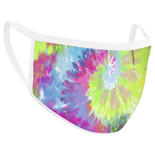 Safe+Mate x Case-Mate - Kids Face Mask (Ages 7-11) - Washable & Reusable - Cloth Face Mask - Cotton - with Filter - Tie Dye