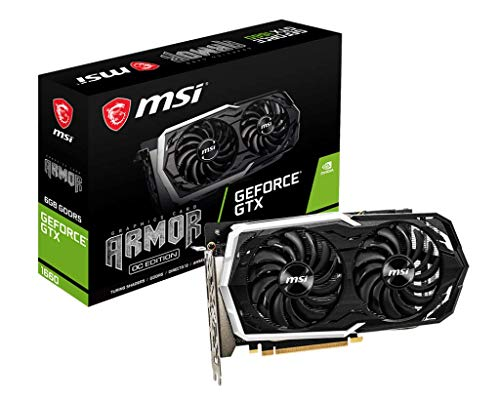MSI GeForce GTX 1660 ARMOR 6G OC (6GB GDDR5/PCI Express 3.0/1845MHz/8000MHz)