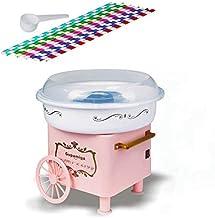 Machine à barbe à papa pour enfants pas cher petit fabricant de bonbons Vintage rétro anniversaire cadeau de noël sans suc...