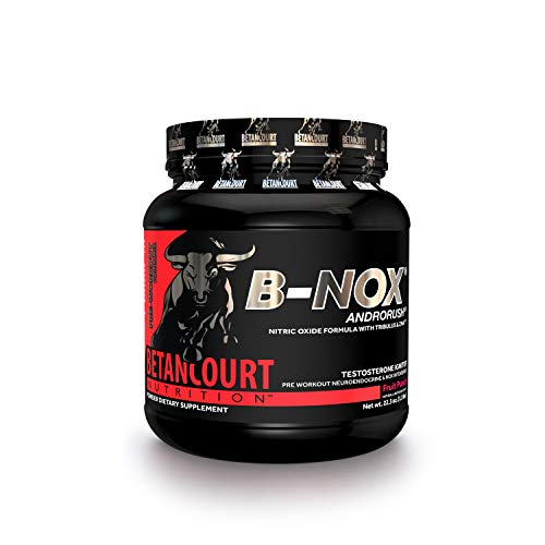 Betancourt Nutrition B-Nox Androrush Pre-Workout, Fruit Punch, 22.3 Ounce