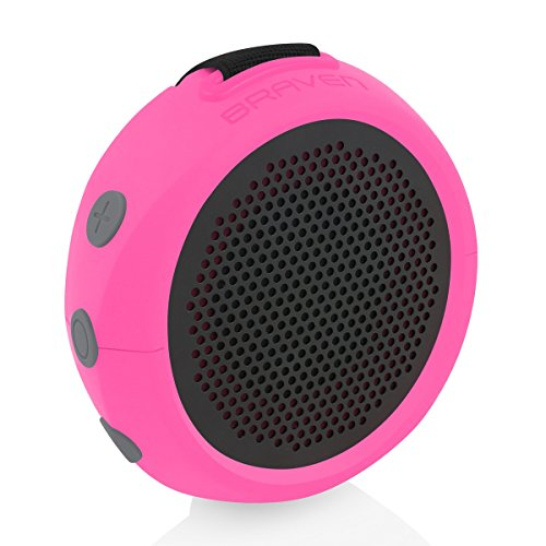 Braven 105 Bocina Portátil, Bluetooth, color Raspberry/Pink