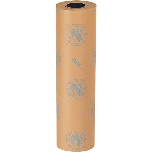 "BOX USA BVCI2430 30# VCI Paper Roll, 24"" x 200 yd, Kraft"