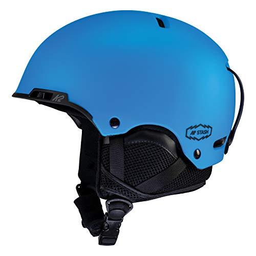 K2 Skis Unisex– Erwachsene Stash Skihelm/Snowboardhelm, Blue, S (51-55cm)