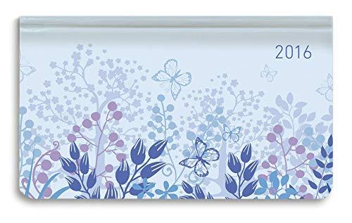Ladytimer Pad Pastel Blue 2016 - Taschenplaner / Taschenkalender quer (16 x 9) - Weekly - 128 Seiten