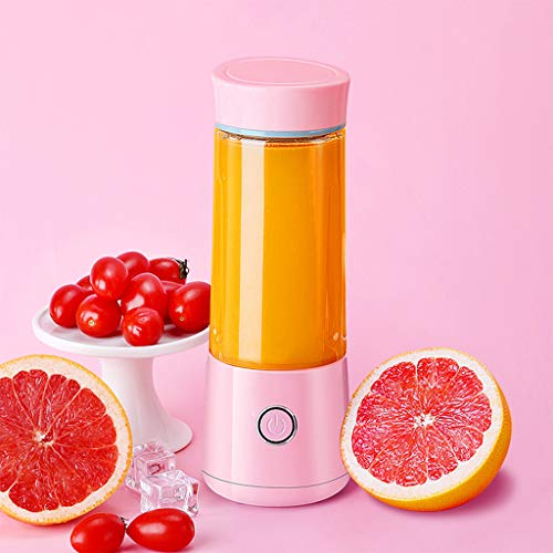 QQAA Juicer Machines,Portable Juicer, Home Small Electric Juicer Cup, Mini Squeezed Juice Cup,Fresh is Best,Juice Machines,Small Juicer
