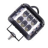 beler Set LED Shooter Lamp Cube Work Side Bar Luz antiniebla para coche, camión, SUV, ATV 4 '