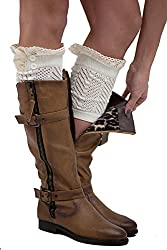 The Complete 2015 Gift Guide for Teen Girls. Boutique Lace Boot Cuffs