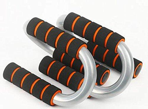 S-Typ Push-ups Halter Kufe Sport- Und Fitnessgeräte Zu Hause Ausüben Brust Muskeltraining Armmuskel,Orange