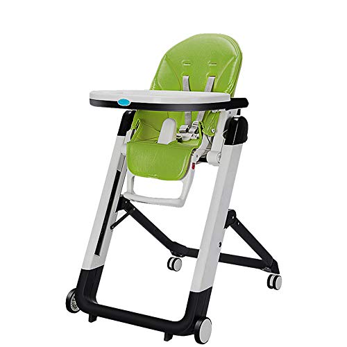 For Sale! HRYHY Luxury Baby High Chair Portable High Chair Stable Simple Folding Baby Booster Seat O...