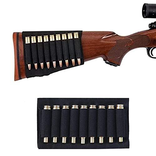 ACEXIER Tactical 9 Cartuchos de Soporte de Conchas de munición Bolsa de Bala para MP 512-36 Accesorios de Rifle de Caza de Culata elástica